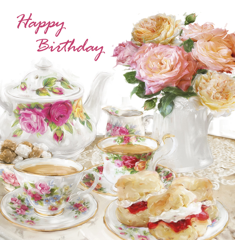 High Tea Birthday Cake Ideas